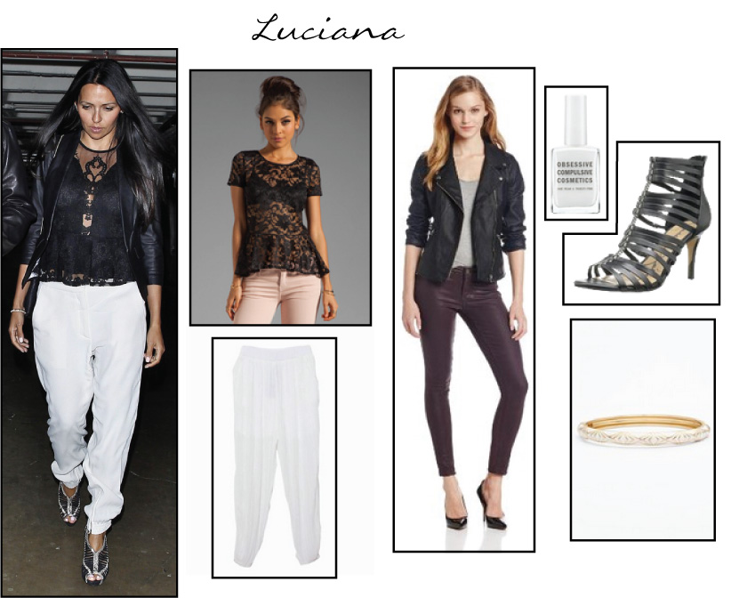 Luciana - White Harem Pants